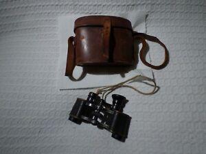 Antique German C P Goerz Neo-Trieder 6x Binoculars & Case