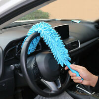 Long Soft Flexible Microfiber Cleaning Brush Car Truck Wash Tool Wheel Cleaner