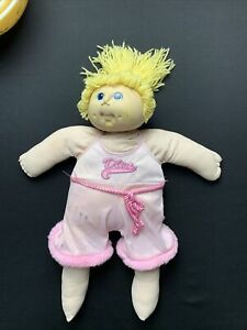 """1984 MN Thomas Doll Baby Original Cabbage Patch 17"""" doll Blond Hair Blue Eyes"""