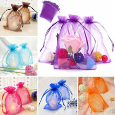 Organza Gift Bags Wedding Xmas Party Favour Candy Jewellery Drawstring Pouch