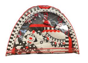 (New) Genius Babies Black, White & Red Activity 3D Playmat & Gym