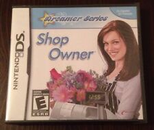 Dreamer Series Shop Owner Game For Ds Dsi Ds Lite 3Ds Nintendo *New & Sealed*