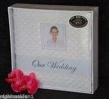 Bridal/Wedding/Engagement  Our Wedding White Rattan Photo Album