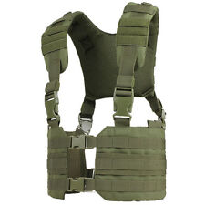 Condor MCR7 RONIN MOLLE Chest Rig Quick Release Split Padded H-Harness Vest OD