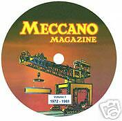 Meccano Magazine on CD