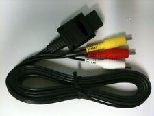 AV Cable For SNES Super Nintendo 64 N64 Gamecube RCA