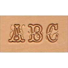Conjunto de sello de cuero del alfabeto Script-sello conjunto 75