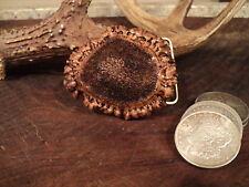 Elk Anter Burr Belt Buckle    Muzzleloading Blackpowder SASS