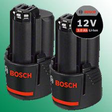 2 X ORIGINAL Akku Bosch GBA 12 Volt Li-ION, 3,0 Ah  1607A3506A - 1 600 A00 X79