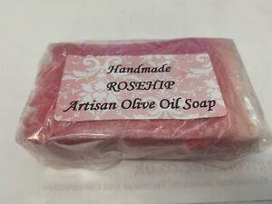Soap Slice, Handcrafted, Rose Hip Artisan Olive Oil