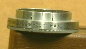 Kodak Series VI 35 mm - 1 3/8 in. Slip-On Adapter with a Retaining Ring
