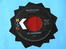 MIDNIGHTERS~ WORK WITH ME ANNIE~ SEXY WAYS~ KING~ 6332~RARE ~ R&B 45