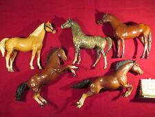 Peter Stone Breyer USA Modell Pferde 5 Stück