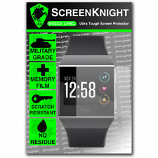 ScreenKnight FITBIT IONIC SCREEN PROTECTOR Military Shield - 1 Pack