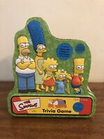 The Simpsons Trivia Game, Collectors Tin. Comes With Character Poster Layout