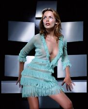 KYLIE MINOGUE - SEXY DRESS - CLEAVAGE - HOT A4 SIZE GLOSSY PHOTO.