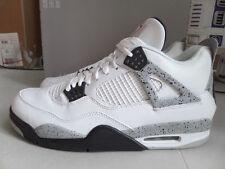100% Auth Nike Men's Air Jordan IV 4 Retro OG White Cement sz 17 [840606-192]