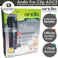 Andis Dog CLIPPERS AGC2 ProClip 2 Speed AU240v #10 Blade Pet Grooming Wahl Oster