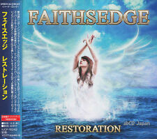 FAITHSEDGE - Restoration +1 / Japan OBI New CD 2016 / Dokken, Eden's Curse