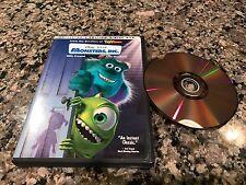 Monsters Inc. Rare DVD!