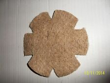 10 PACK OF SHAPED JUTE NESTING FELTS FOR CAGE & AVIARY BIRDS