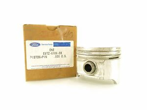 "NEW OEM Ford Piston & Pin .020"" E9TZ-6108-DB Ford Mercury 2.3 140 i4 1983-1994"