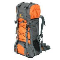 UK Extra Large 60 L Travel Backpack Hiking/Camping Rucksack Luggage Bag