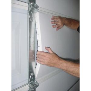 Garage Door Insulation Kit Polystyrene Foam Plastic Panel 8 Pieces Washable Seal