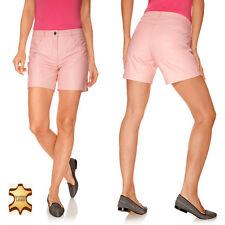 HEINE Ledershorts Shorts Hose Nappaleder Gefüttert Rosé 42