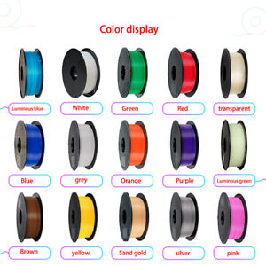 For 3D Printer Consumables 3D PLA Printing Filament Wire Wholesale 1.75mm