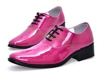 England Mens Pointy To Dress Formal Lace Up wedding Shoes British Hairstylist