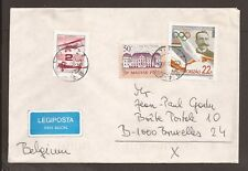 Hungary 1995 Airmail cover. Posted to Brussels