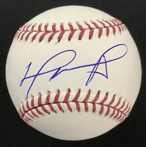David Ortiz Signed Baseball Manfred Boston Red Sox DH Big Papi Autograph JSA 2