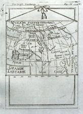 ASIA, GRAND TARTARY, Allain Mallet original antique  map 1719