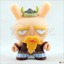 Kidrobot Dunny 2010 series Techno Viking vinyl by Beast Brothers - not complete