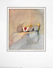 R. Zimmermann Der rote Tropfen Poster Kunstdruck Bild 50x40cm