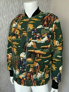 STELLA McCARTNEY BOMBER JACKET SIZE M / L RETAIL £1200 MADE IN ITALY BNWT