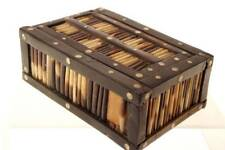 ANGLO INDIA SRI LANKAN  PORCUPINE QUILL JEWELRY BOX    3              Y-36