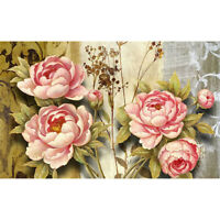 DIY 5D Full Drill Diamond Painting kit Peony Cross Stitch Embroidery Home Decor