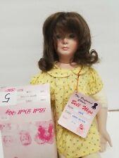 "Bell Doll Wigs #5 Jamie Lt. brown 13-14"" new in box"