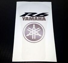 Yamaha R6 Custom Clear Tank Pad / Protector - Removable!