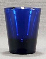 Libbey Whiskey Shot Glass Cobalt Blue 1.5 Oz.