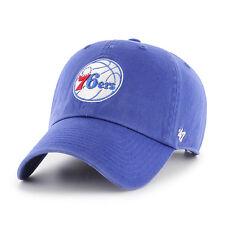 Philadelphia 76ers 47 Brand NBA Strapback Adjustable Dad Cap Hat Clean Up Sixers