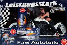 Bujías de color principal plata para motos