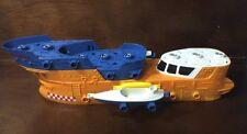 "MATTEL Matchbox Mega Rig Shark Ship, just the SHIP, orange,18"" long,replacement"