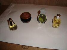 4 Parfüm Miniaturen - Sammlungsauflösung, ab 1990