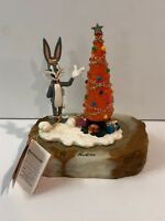 Ron Lee Bugs Bunny A Christmas Carrot Statue 2003 Limited Edition LT320