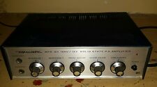 Vintage REALISTIC MPA-20 Mono PA Amplifier Head 120V / 12V Solid State Amp Hi-Z