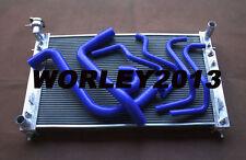 Aluminum radiator + Silicone hose for Holden Commodore VT VX  V6 3.8 1997-2002