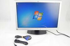 "HP PE1240 23""  LCD Monitor with Cables VGA Grade A"